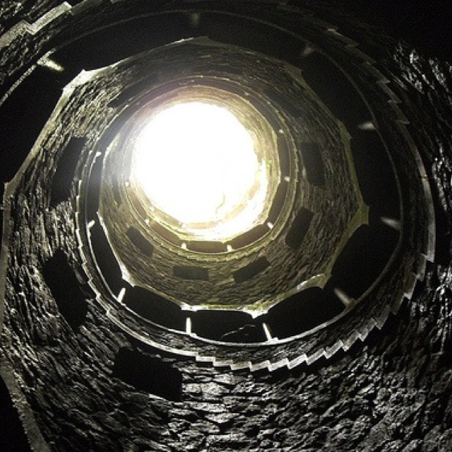 Sintra, Portugal. Reverse tower.