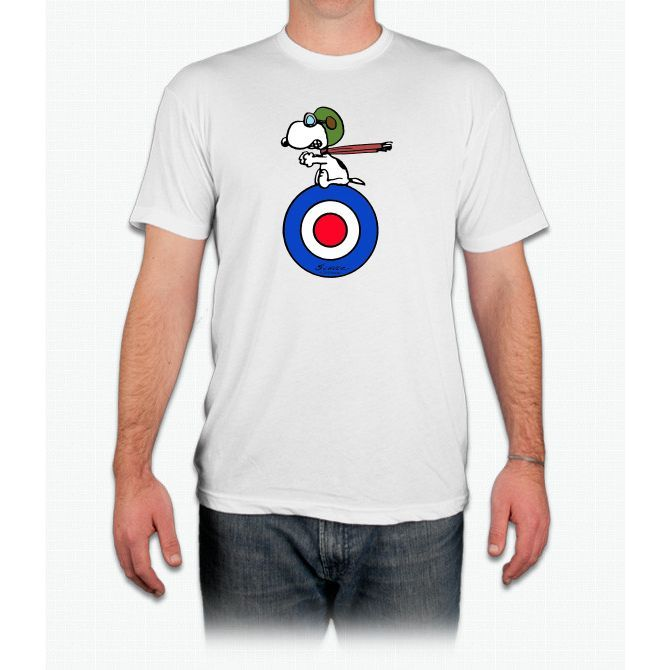 Snoopy - Flying Ace - Men T-Shirt