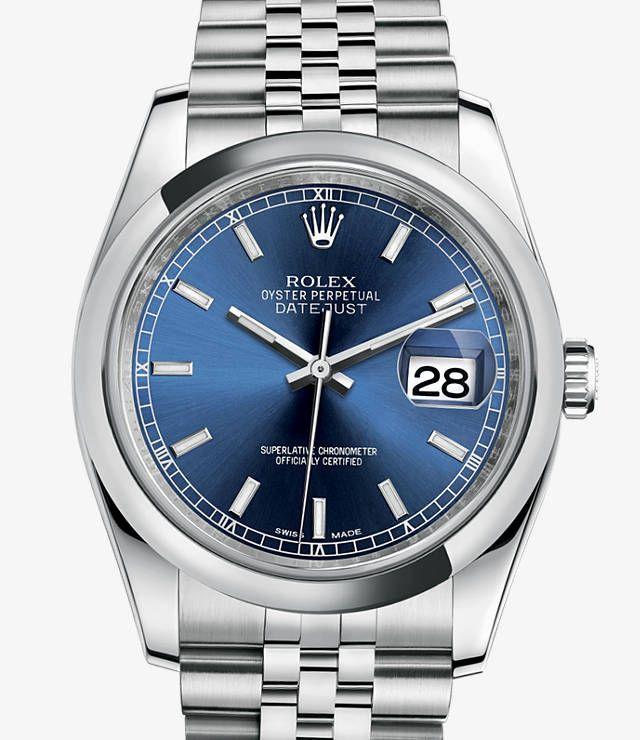 Rolex Datejust 36 Uhr: Edelstahl 904L – 116200