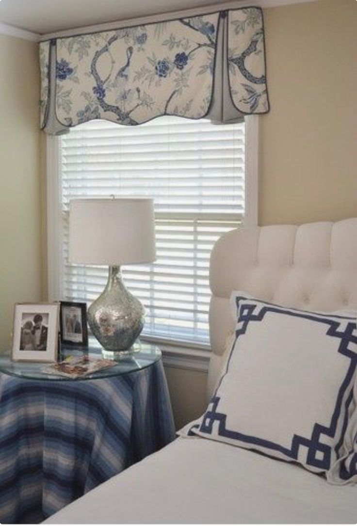 Simple White Faux Wood Blinds And Top Valance Treatment For The  Home,Interior Design U0026 Decor,Window Treatments,