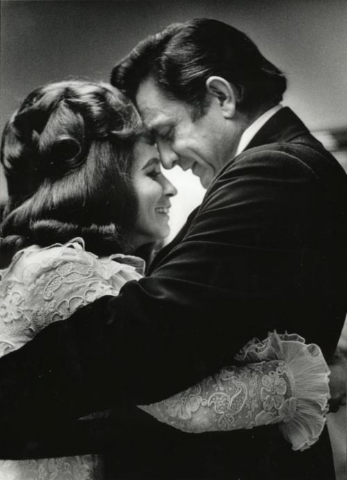 Johnny Cash & June Carter this is what true love looks like. they say he died of a broken heart 3 months after she did