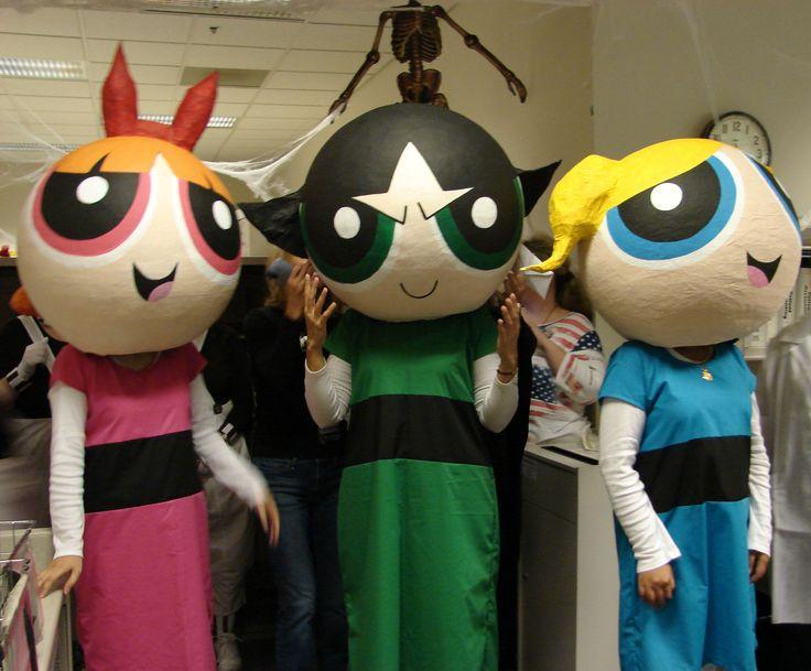home made power puff girls halloween costumes & The 105 best Halloween images on Pinterest   Halloween ideas ...