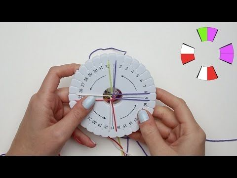 Armband vlechten op de kumihimo vlechtschijf, idee13498 - YouTube
