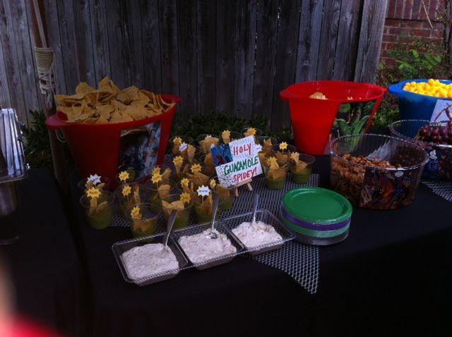 Holy Guacamole- Super Hero Party Food