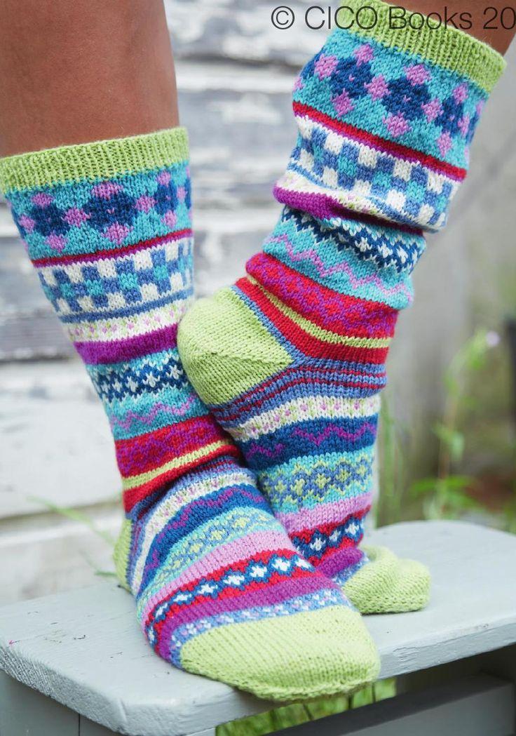 358 best socks images on Pinterest | Knitting, Closet and En vogue
