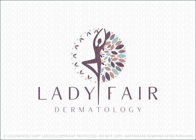 Logo for sale: Beautiful, delicate logo design of a woman's silhouette figure. Her arms and body formation are stylistically designed and positioned in a spiritual and uplifting manner.