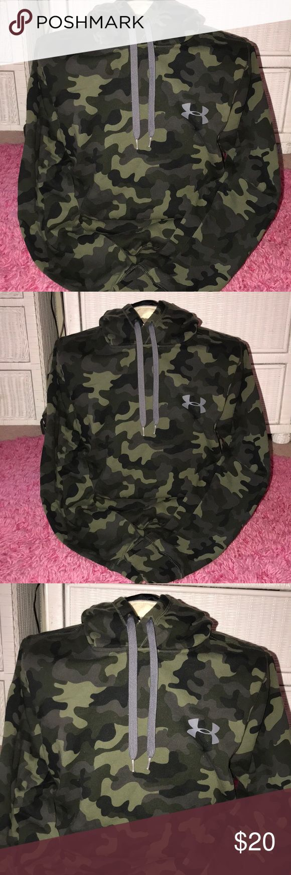 Under Armour Camo Hoodie Under Armour Camo hoodie. Perfect condition size medium Under Armour Shirts Sweatshirts & Hoodies