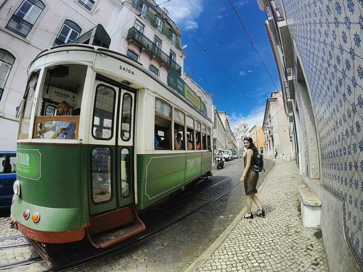 Lisbon / lisboa / portugal / travel / tram