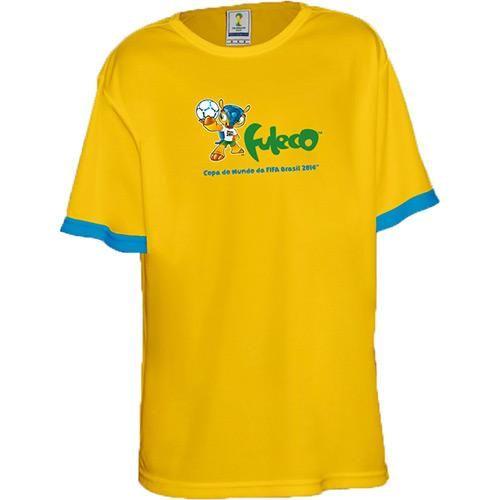 Camiseta FIFA Infantil Mascote Fuleco