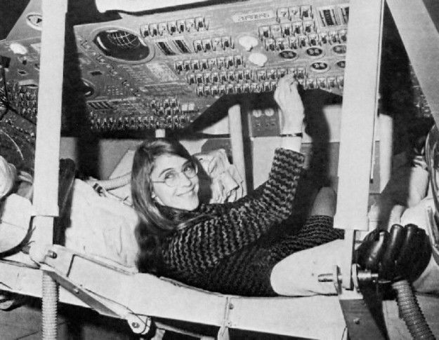 """""""Margaret Hamilton led the team that developed the in-flight software for the Apollo missions. Man wouldn't have set foot on the moon without her work."""""""