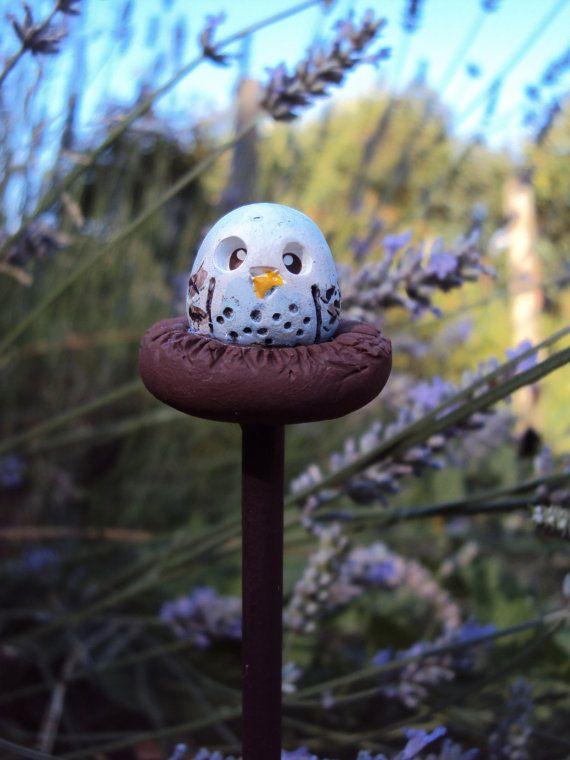 Fairy Garden Owl Pet Polymer Clay Miniature Garden