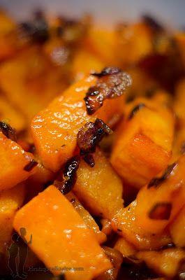 Patates douces sautées à l'échalote | Piratage Culinaire