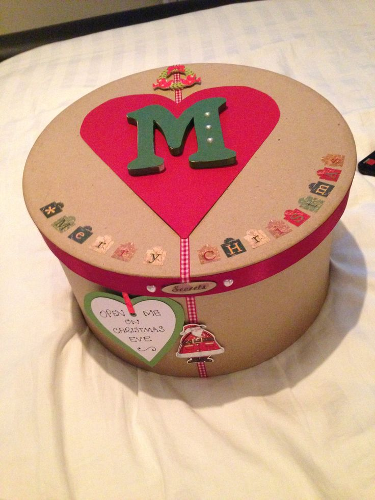mache decorated box
