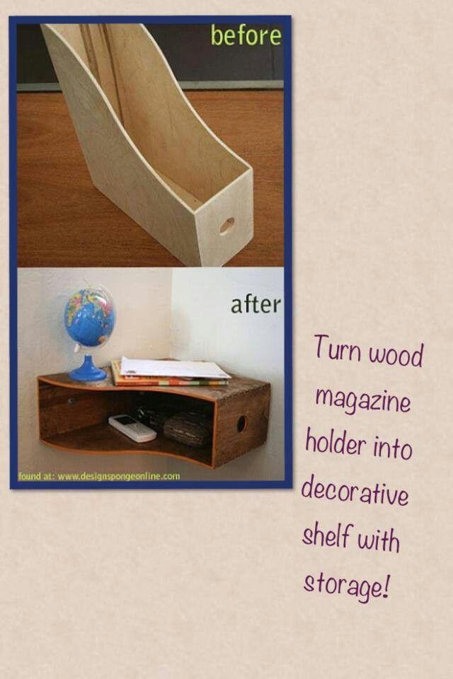 Great storage idea!