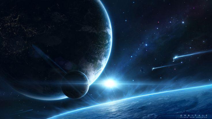 Download Wallpaper x Space Sky Spiral Galaxy Full HD
