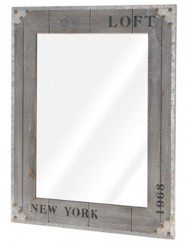New Nostalgischer Wandspiegel uNEW YORK u Spiegel Flurspiegel Kosmetikspiegel Rasierspiegel