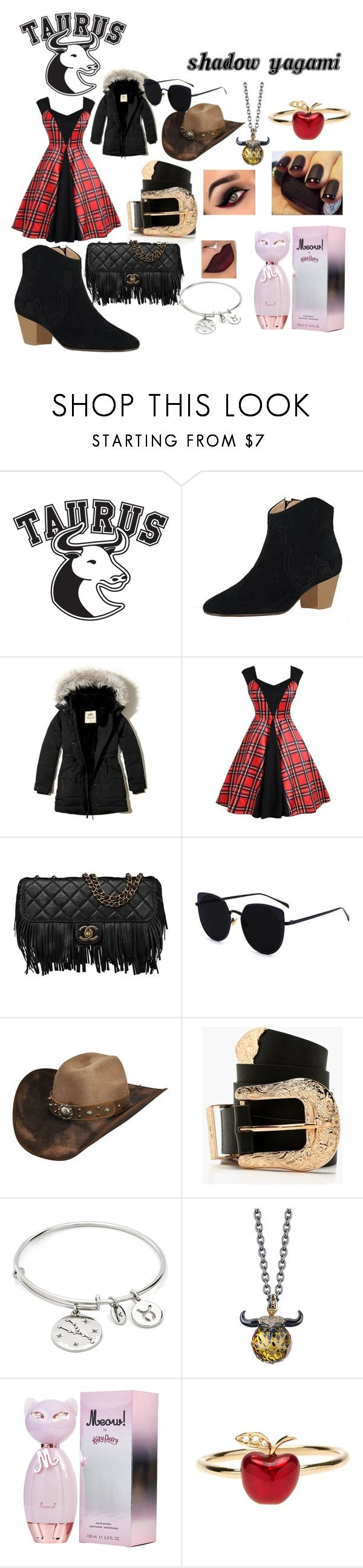"""""""Taurus, Sole-Mate Style"""" by ticciboby-thekiller-drowned ❤ liked on Polyvore featuring Good American, Hollister Co., Chanel, Bailey Western, Boohoo, Chrysalis, Stephen Webster and Alison Lou"""