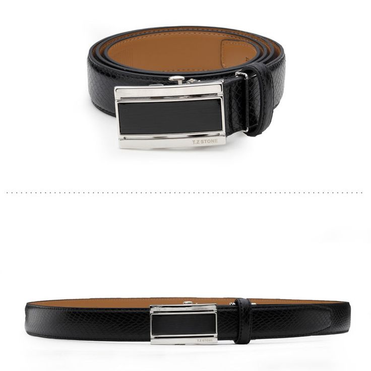 T.Z STONE Belts Italy Leather Casual Men's Waist New Belt Accessories TZ1D304BK #TZStone