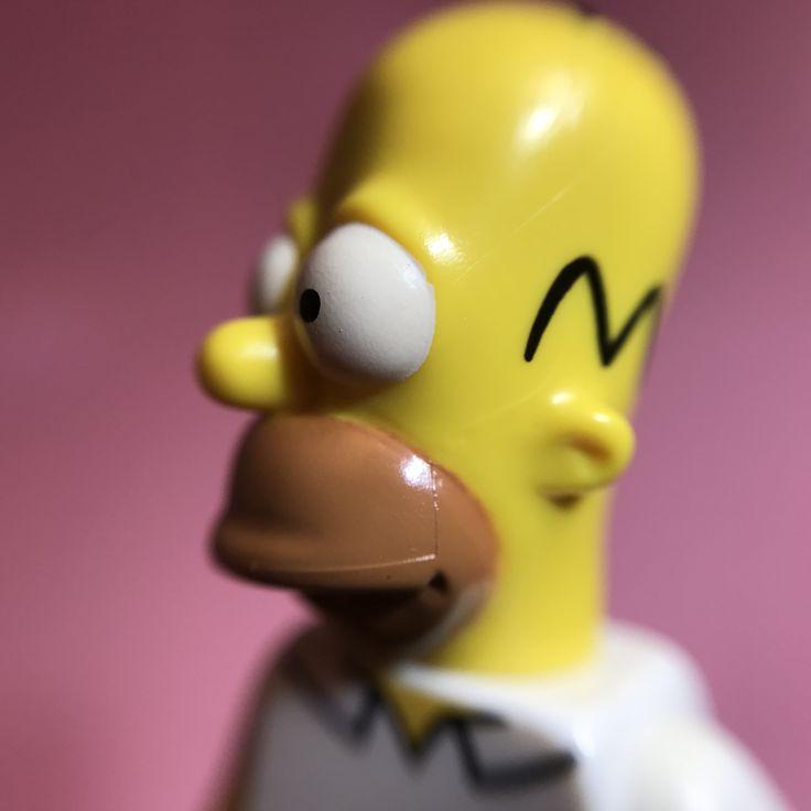 I love the homer simpson lego minifigure #minifiguremacros #macrophotography #thesimpsons #lego #legominifigures