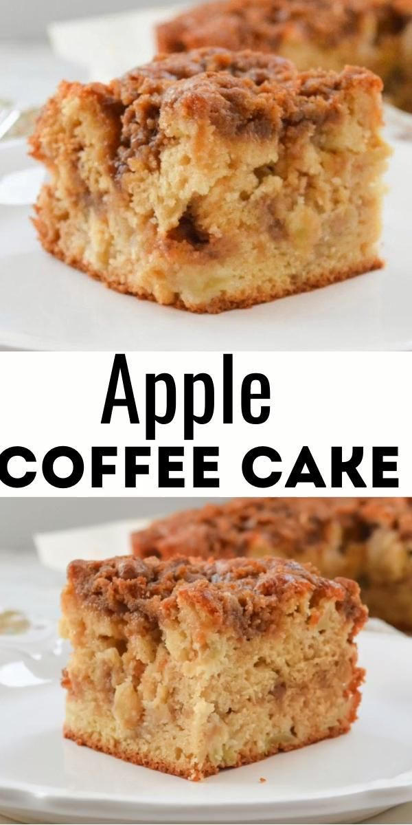 Apple Coffee Cake In 2020 Coffee Cake Recipes Easy Apple Coffee Cakes Fall Baking Recipes