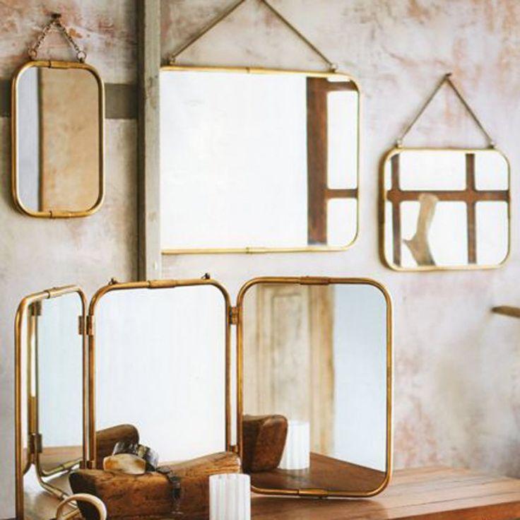 Les 25 meilleures images du tableau miroir sur pinterest - Mur de miroir ...