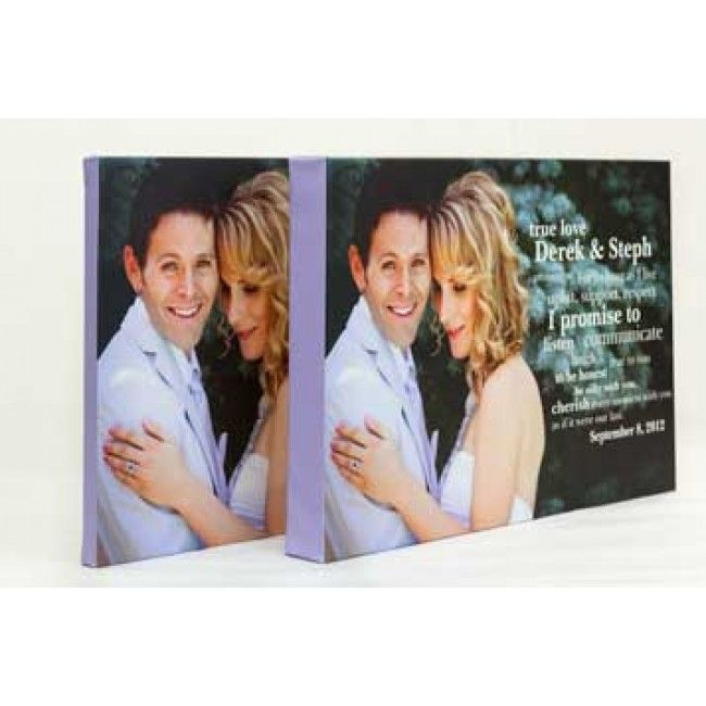 Thin and Thick Canvas Photo Print Gallery Wrapped