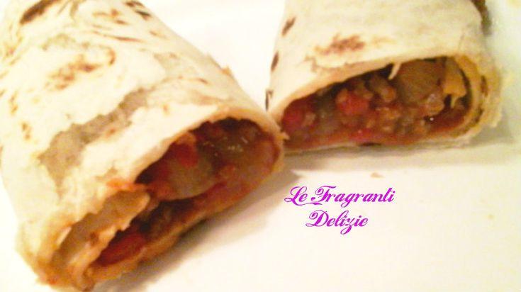 Burritos con carne/ ricetta veloce