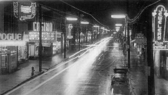 Gottingen St. Halifax, 1957 by Ross Dunn, via Flickr.   A great picture of historic Halifax at a time when this part of the city was booming