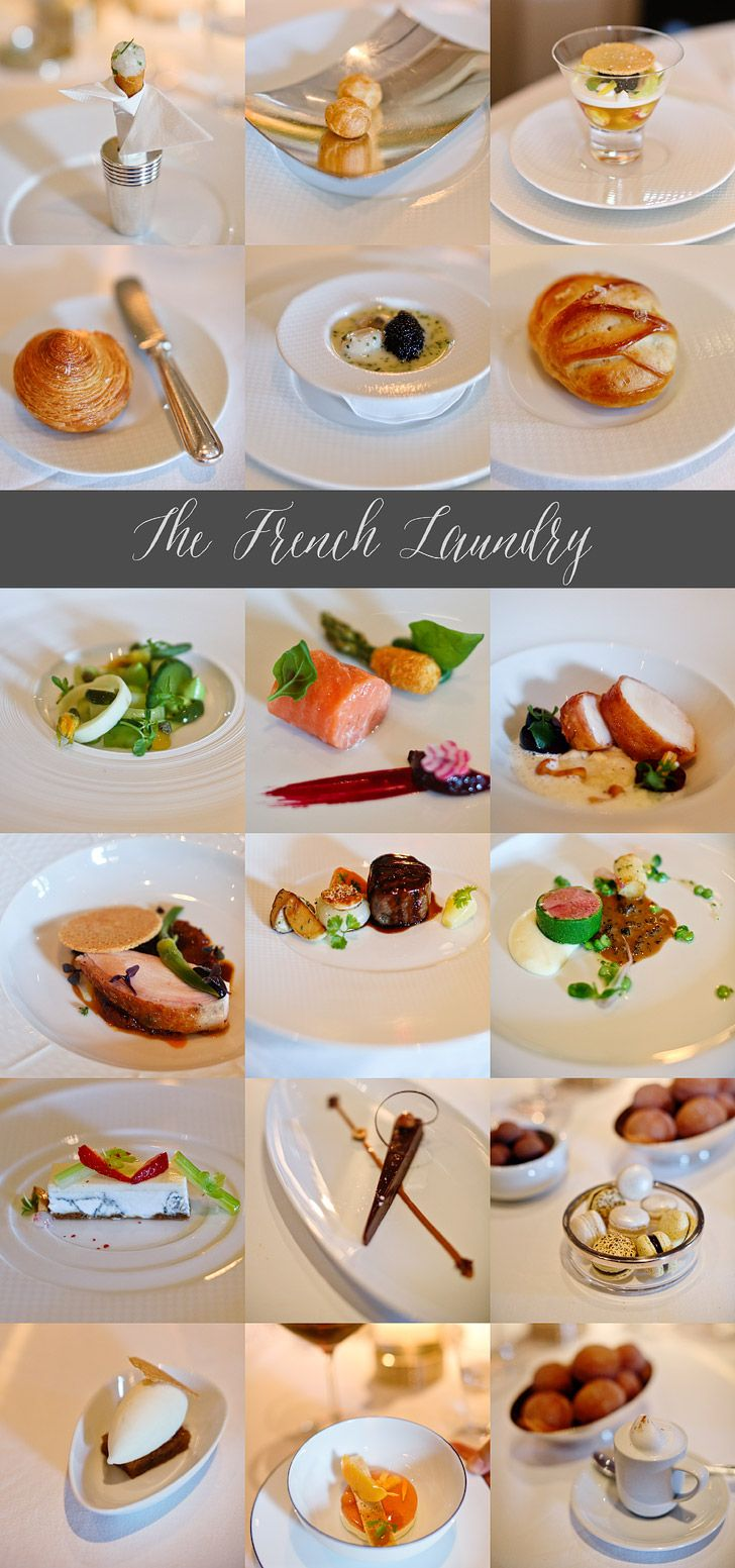 Eat the full tasting menu at the French Laundry.