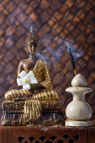 Incense can be so relaxing