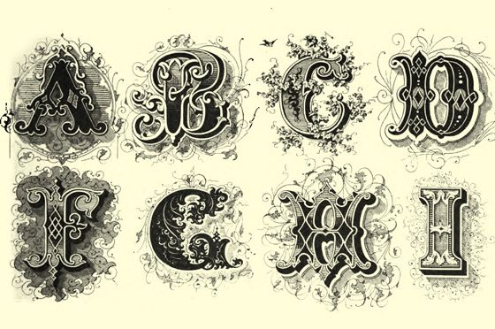 Hairstyle 6 Letters: Best 25+ Victorian Fonts Ideas Only On Pinterest