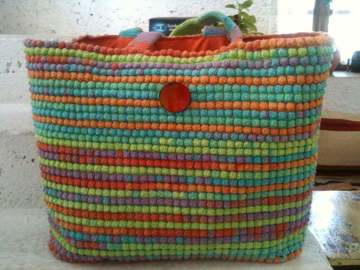 Beach hand bag