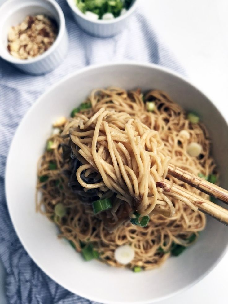 Cold Sesame Peanut Noodles