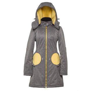Liliputi® 4in1 Babywearing Mama Coat - Grey-Yellow