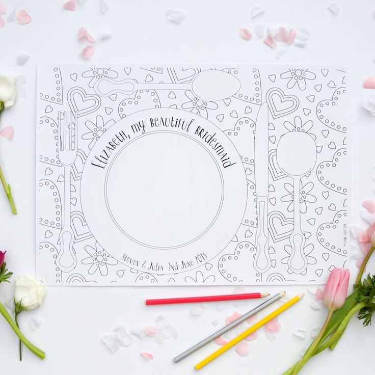 are you interested in our personalised wedding placemats with our wedding table decorations you need
