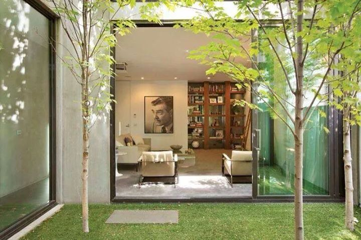 25 melhores ideias sobre cortinas duplas janela no for Diferencia entre halla y living room