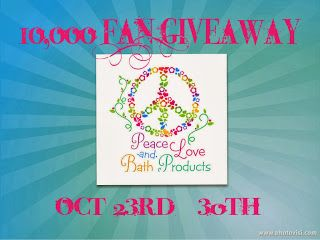Click here to go enter to win!  30 great prizes from some awesome vendors.