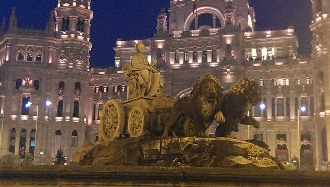Madrid, Fuente de la Cibeles