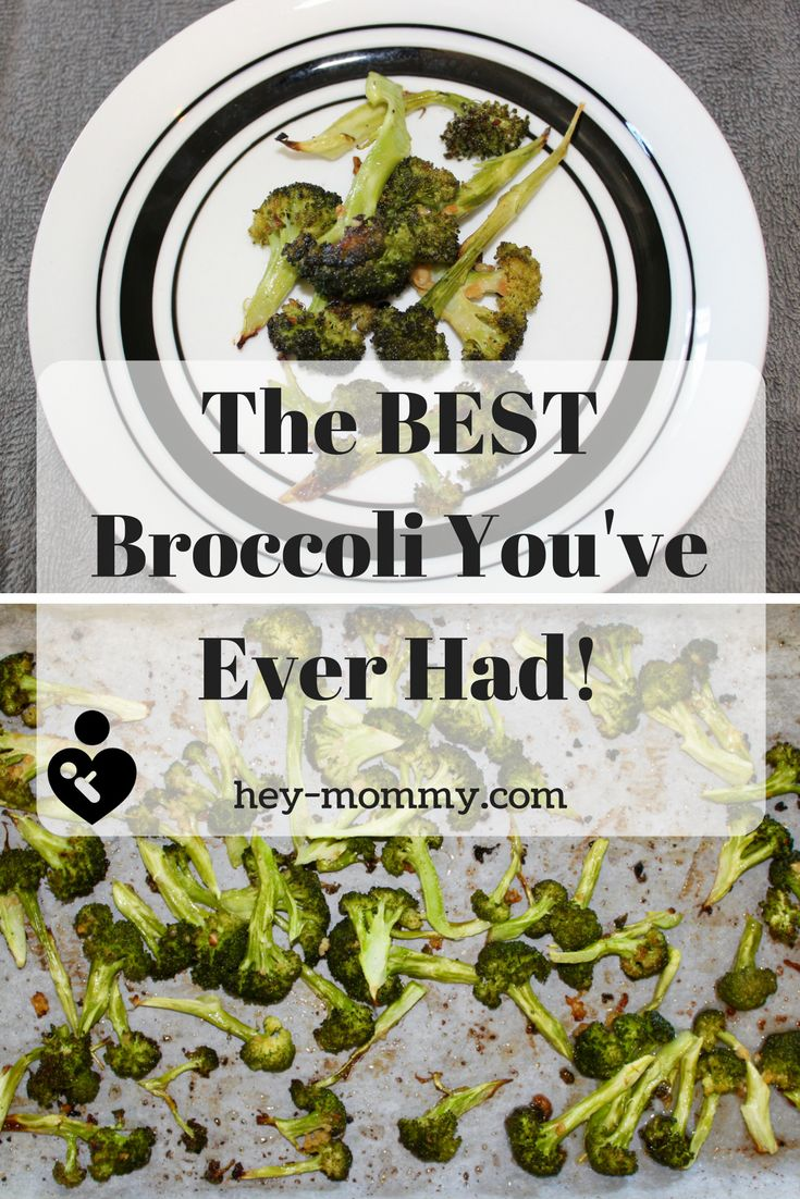 The best broccoli you've ever had. How to get kids to eat broccoli. Vegetable recipes. Broccoli recipes. Healthy vegetable recipes. How to get kids (and grown ups) to eat vegetables. Get kids to eat veggies. #roasted #vegetables