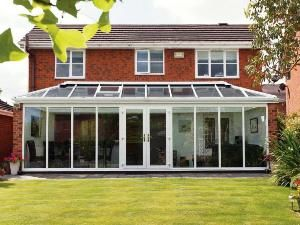 Contemporary Conservatory Glass Roof Conservatory