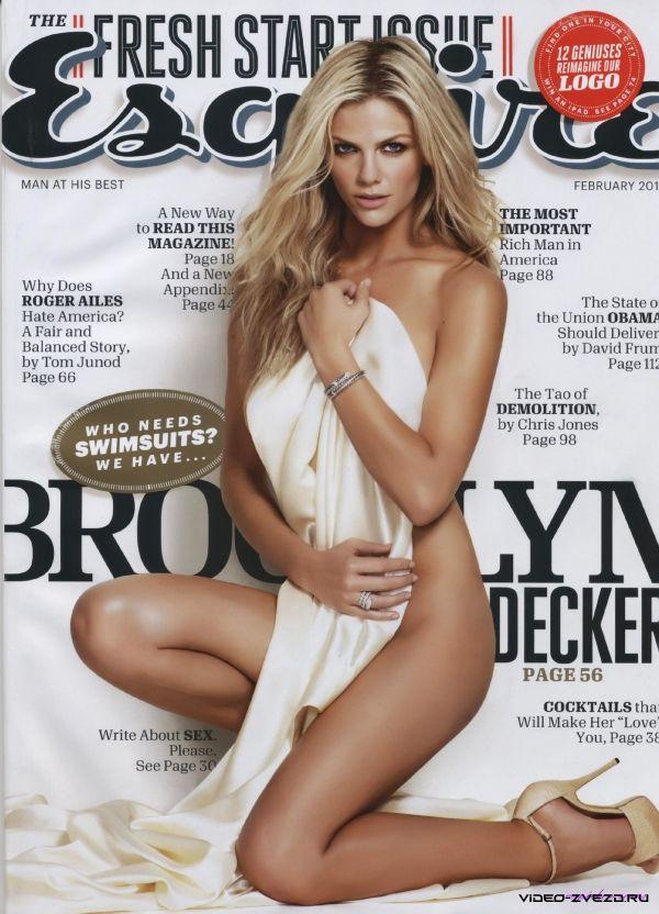 Сексуальная Brooklyn Decker (Бруклин Декер) эротические фотографии для журнала Esquire, февраль 2011, United States
