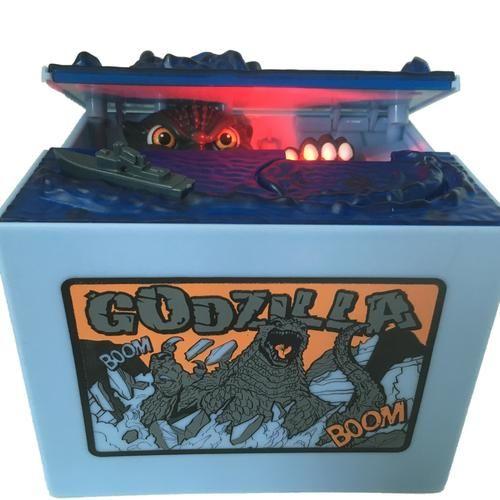 Tirelire Electronique Godzilla