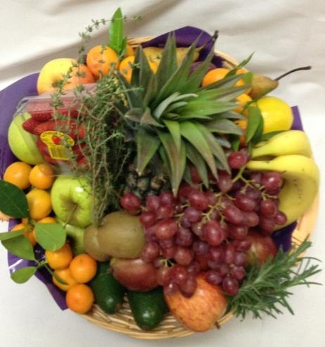 Delicious Fresh Fruit Basket