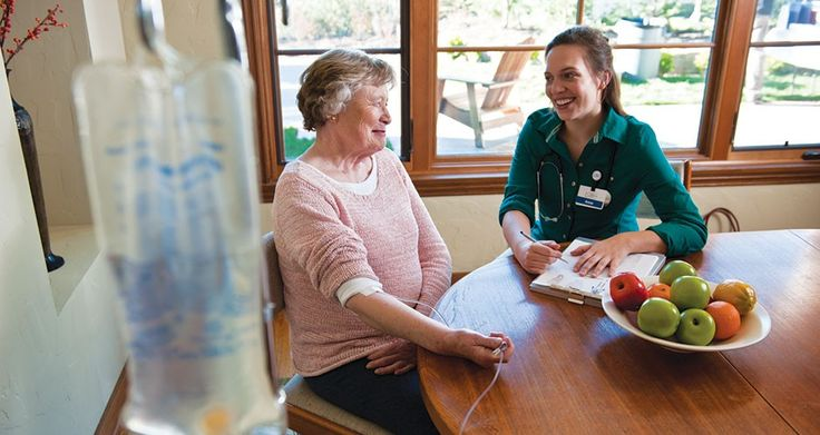 Home health services from the Good Samaritan Society provide people of all ages medical assistance in their homes, while offering support and respite for their loved ones.