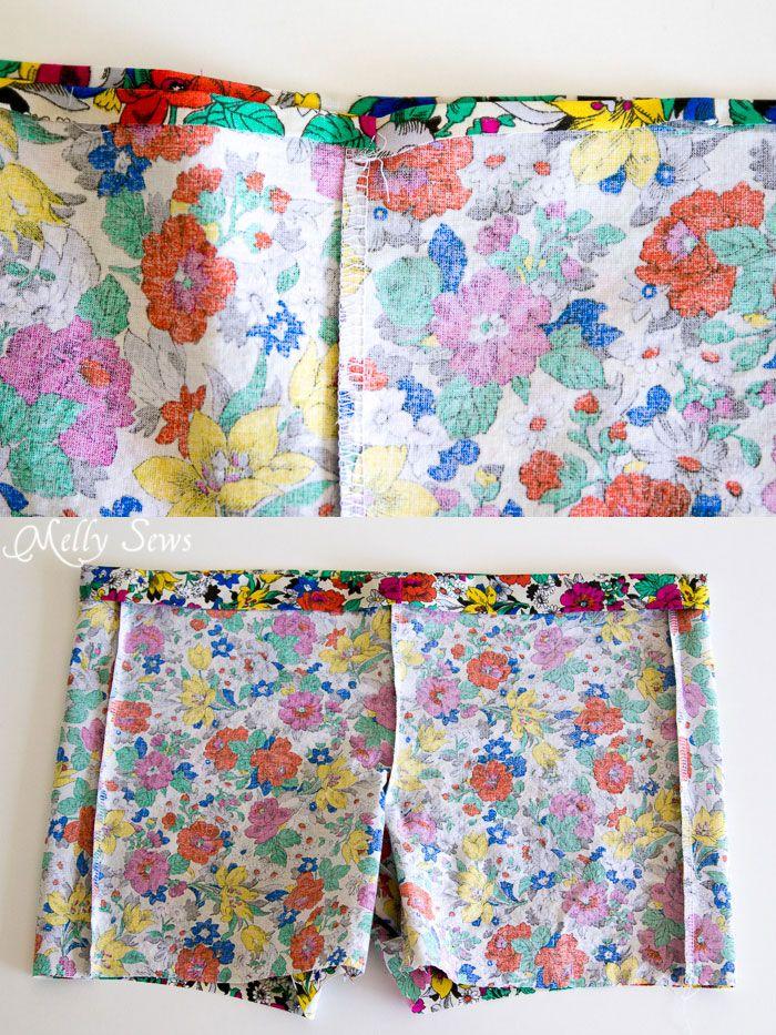 Étape 4 - Boxer Shorts pyjama (avec modèle gratuit) - MellySews