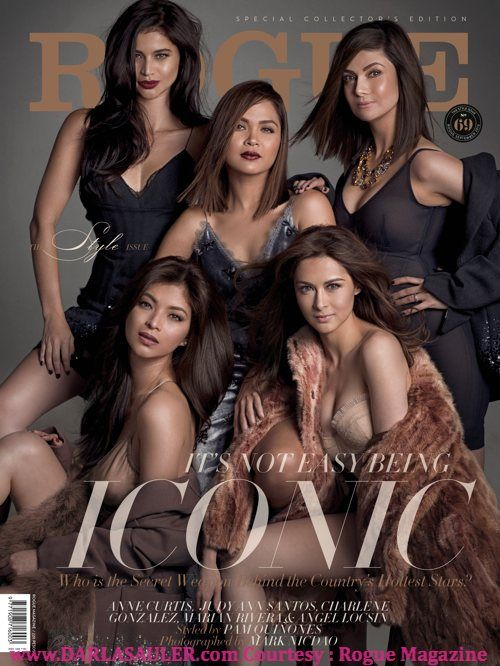 darlasauler.com: ROGUE MAG EXCLUSIVE PHOTOS : Angel Locsin, Anne Curtis, Marian Rivera, Charlene Gonzalez and Judy Ann Santos for Pam Quinon...