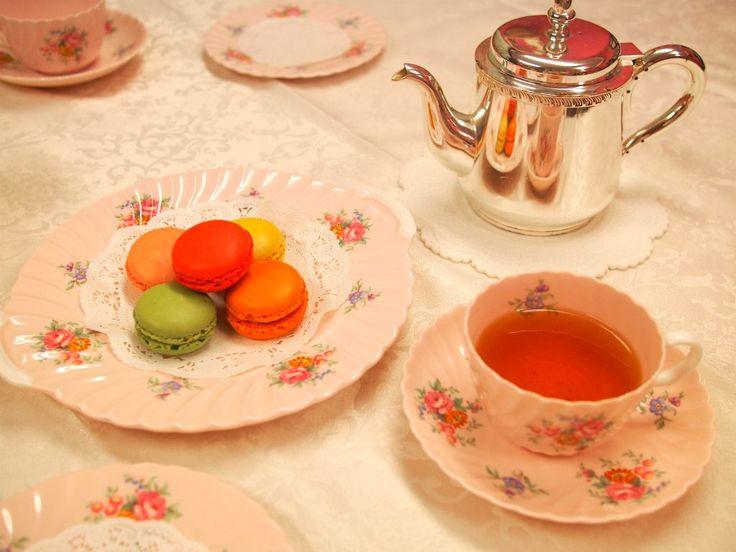<お菓子と紅茶のマリアージュ>ダロワイヨのマカロンに合う紅茶は?