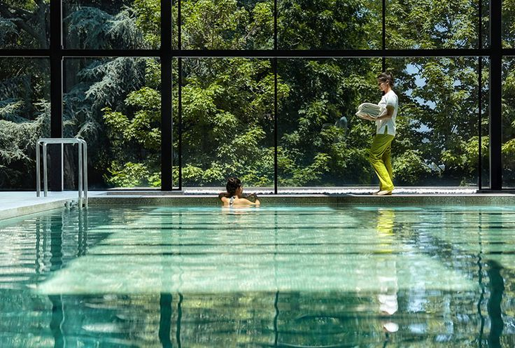Indoor pool at Six Senses Spa Douro Valley, Portugal www.sixsenses.com/resorts/douro-valley/spa