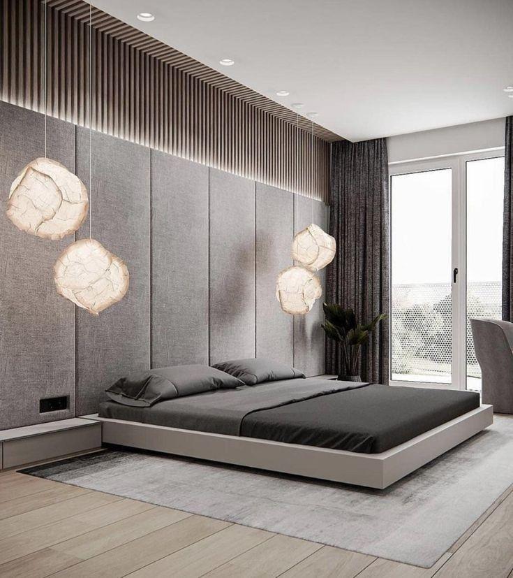 Luxury Modern Mansion In 2020 Modern Luxury Bedroom Modern Master Bedroom Design Bedroom Furniture Design