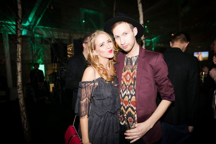 Blogerzy modowi - Jessica Mercedes Kirschner oraz Igor Rądlewski / www.Kalendarz.YES.pl  #premiere #warsaw #calendar #KY2015 #BizuteriaYES #event